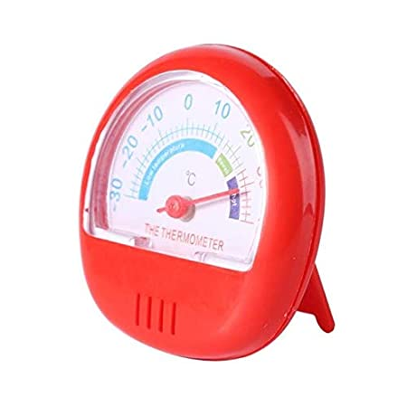 QYCL Higrómetro analógico, refrigerador Termómetro Puntero Dial ...