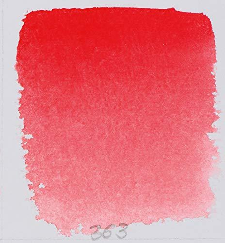 Schmincke Watercolor Pans - Scarlet Red - Half Pan