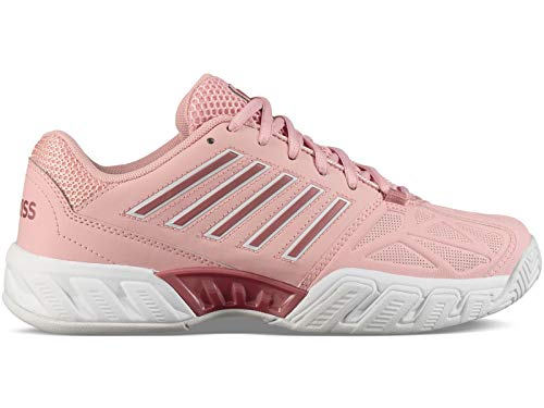 (K-Swiss Bigshot Light 3 Womens Tennis Shoe (Coral Blush/White, 6.5 M US))