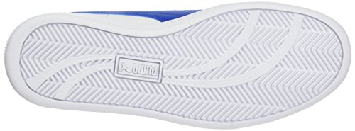 Puma Smash Fun L Jr, Unisex-Kinder Sneakers Weiß (White-Lapis Blue)