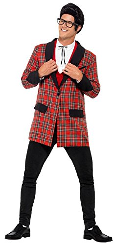 60s -70s  Men's Costumes : Hippie, Disco, Beatles Smiffys Mens Teddy Boy Costume $42.74 AT vintagedancer.com