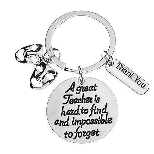 Infinity Collection Drama Teacher Gift, Great Teacher is Hard to Find But Impossible to Forget, Drama Jewelry, Comedy Tragedy, Drama Mask Charm -