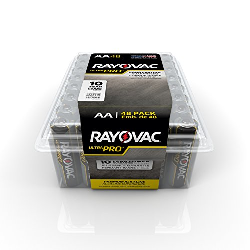 RAYOVAC ALAA 48PPJ Alkaline Batteries 48 Pack