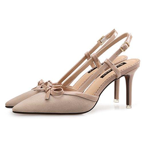 fine punta sandali Le elegante i di Color scarpe 38 Bare unico scarpe con High Heel versatile e wqtt4xSI