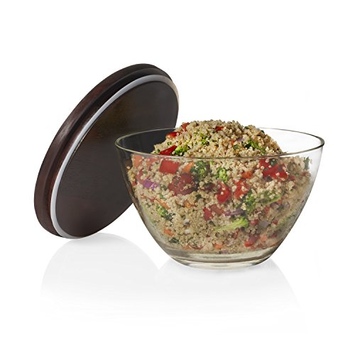 serving bowl with lid - 7