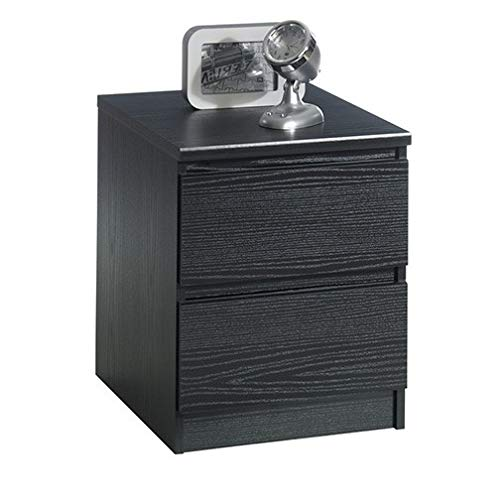 Home Square 2 Piece Dresser and Night Stand with Drawers in Black Woodgrain by Home Square (Image #4)