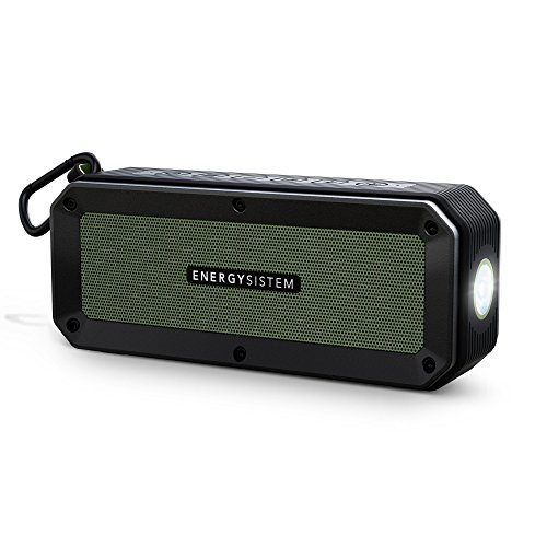 Energy Sistem Outdoor Box Adventure Speaker with Bluetooth (Black and Green)