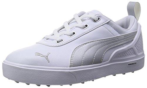 Puma Monolite Mini–White-Silver Metallic