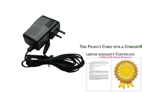 Price comparison product image UpBright® AC Adapter Charger For Philips Satinelle Soft Epilator Hair Removal Shaver Series HP6423, HP6491, HP6492, HP6493, HP6496, HP6495, HP6501, HP6502, HP6423/00, HP6507, HP6508, HP6423/01, HP6509, HP6512, HP6509/01, HP6513, HP6515, HP6512/00, HP6608, HP6609, HP6512/50, HP6444, HP6444/00 ,HP6492/11 Power Supply Cord
