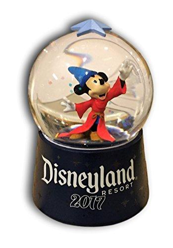 Sorcerer Mickey Mouse Light-Up Mini Snow Globe - Disneyland Resort (Disney Mini Mouse Desk)