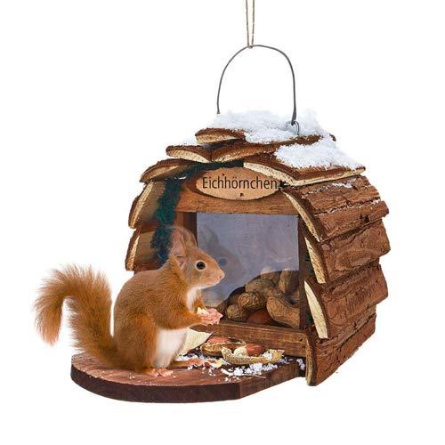 Unbekannt Vogelhaus für Eichhörnchen Vogelhäuschen Vogelfutterhaus Futterhaus Häuschen no name