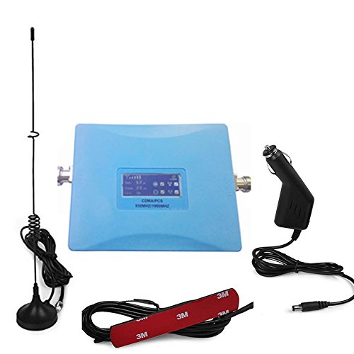 Car Use 4G CDMA 850Mhz PCS 1900Mhz 2G and 4G LTE Daul Band Repeater CDMA Booster for All USA 2G Network 4G LTE by longshen