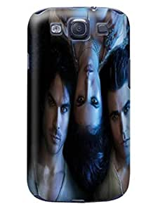 Custom movie stars design tpu skin cover case for Samsung Galaxy s3 of The Vampire Diarie in Fashion E-Mall to make your phone fresh by icecream design