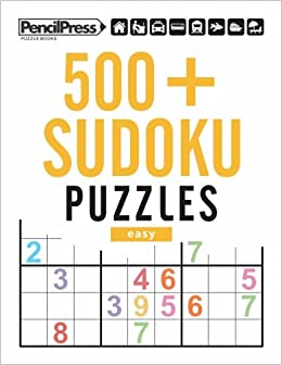 500 Sudoku Puzzles Easy Sudoku Puzzle Book Easy With Answers