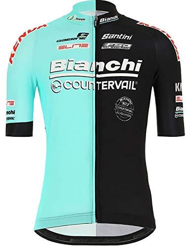 自転車ウェア 2019 Bianchi Countervail 半袖ジャージ ビアンキ Lサイズ