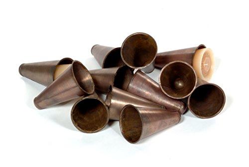 (Sugarmold Tin Inserts-Cone Shaped-Set 12)