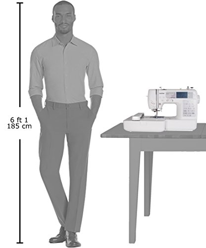se400 combination computerized sewing and embroidery machine
