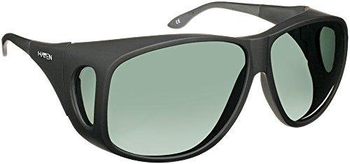 Haven Fits Over Sunwear Banyan Polarized Aviator Sunglasses,Rubberized Black,65.6 - Men For Haven Sunglasses