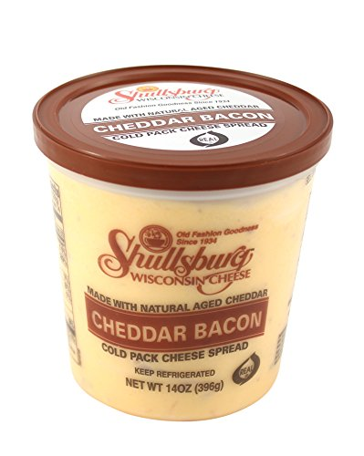 Shullsburg Creamery - Bacon Cold Pack Cheese Spread - 14 oz. ()