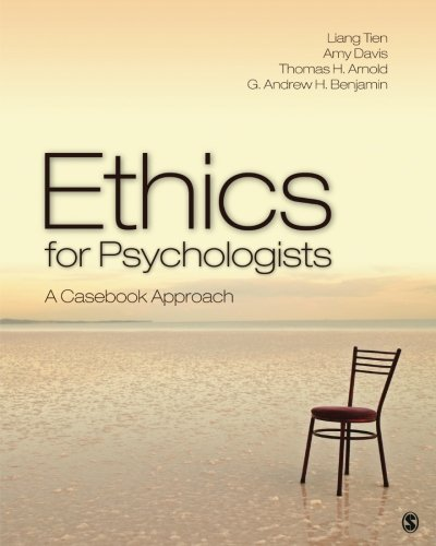 Ethics for Psychologists: A Casebook Approach