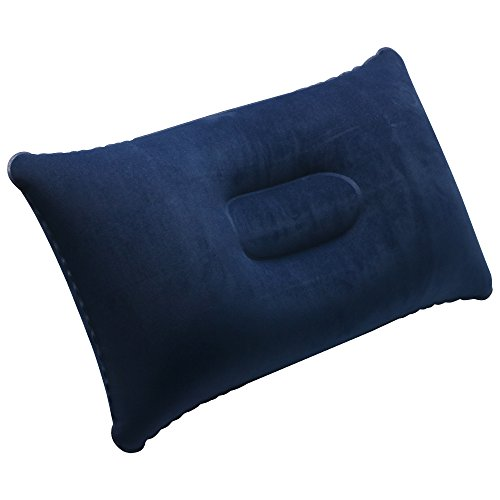 Trixes Inflatable Pillow For Travel Or Camping Blow Up
