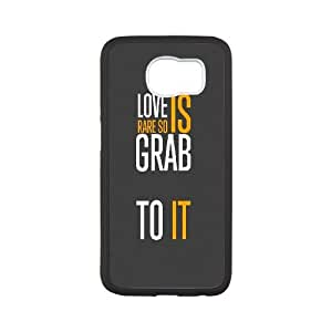 Samsung Galaxy S6 Phone Case Black Ios Color Life Quote TT5S8GOH Pantech Cell Phone Cases