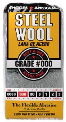 Steel Wax Wool (Rhodes American Steel Wool Pads Extra Fine No. 000 Wax Finish Metal)