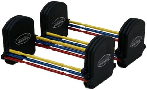 Fitness-Mad, PowerBlock U33 de l'étape 2 Haltères réglables - 10 à 15kgs
