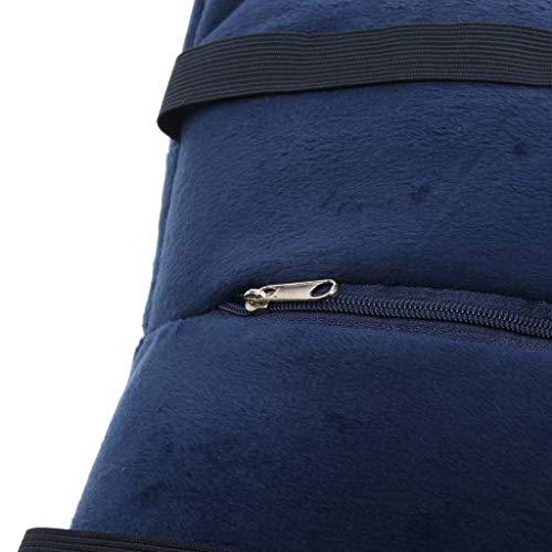 Rosado Oscuro Forma U 1 Baosity Inflable Cuello Cómodo Almohada B Para Avión Unidad Azul nOqPFO1
