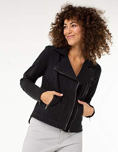 Liverpool Women's Black Moto Jacket Contour Stretch