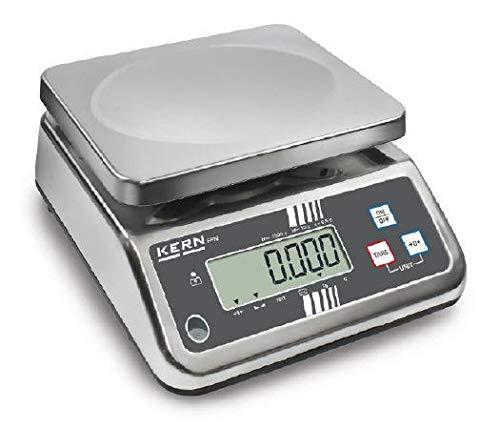 For Demand wiib25m Bilancia acciaio inox ffn-n, graduazione 10gr, scuola di pesaje 200gr–25kg, valore di omologazione (G): 10