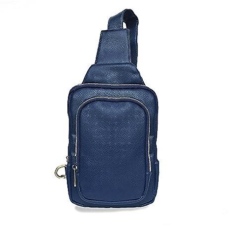 943a0dd6453d Amazon.com: iVotre Soft PU Leather Cross Body Bag for Men Vintage ...
