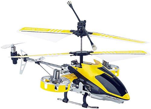 Simulus 4-Kanal Fernlenk-Mini-Hubschrauber GH-245 mit 5 Rotoren, Gyro