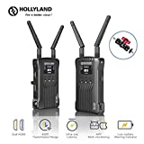 Hollyland Mars 400 1080P Wireless Dual HDMI Video Transmission System, 400ft iOS & Android App Monitoring with 3 Scene Modes, OLED Display for On-Camera Monitor DSLR Mirrorless Gimbal Cameras
