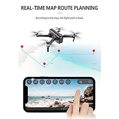 SJRC F11 PRO GPS Drone Foldable Brushless Motor RC Quadcopter Drone with 4K Photo 2K Video 5G WiFi FPV 1080P Camera Altitude Hold Headless Mode Follow Me One-Key RTH 3D Visual 2 Battery, Foam Box