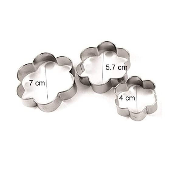 SYGA 12 Pieces Cookie Cutter Stainless Steel Cookie Cutter with Different Shape 3