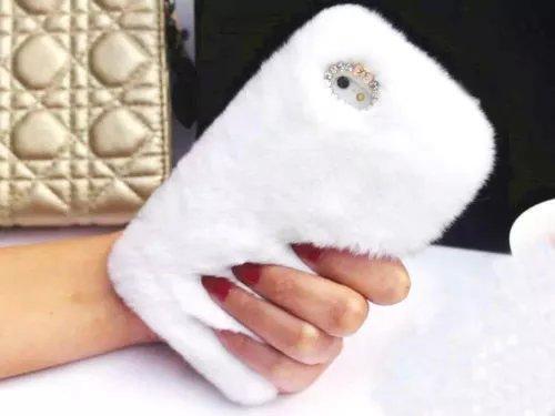 fluffy samsung s7 case