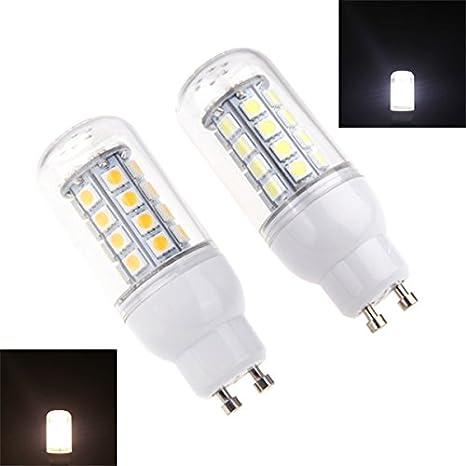 Envío gratuito blanco blanca cálida Bombilla LED lámparas 360 Degree 220 – 240 V GU10 5