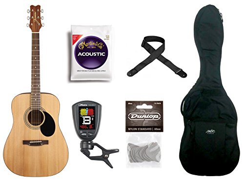 Jasmine 6 String S35 Acoustic Guitar Pack   S35 Pak