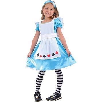 Alice in Wonderland Girls Fancy Dress Halloween Costume Age 3-4  sc 1 st  Amazon UK & Alice in Wonderland Girls Fancy Dress Halloween Costume Age 3-4 ...