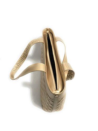 mujer dorado Moschino Bolso para al Dorado hombro wwIfqR