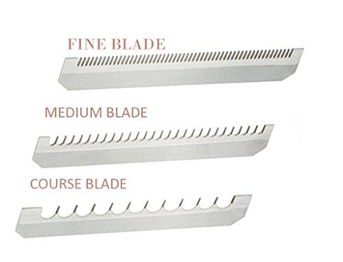 Benriner MBN188110.226.332V Replacement Blade For Mandoline Slicer, 4-1/8 (Length) X 3/4'' (Wide), Set of 3 Kinds (Fine, Medium and Coarse) by M.V. Trading