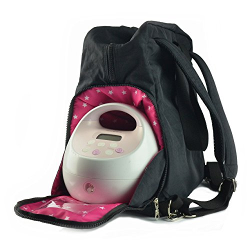 Sarah Wells ''Kelly'' Breast Pump Bag (Solid Black) by Sarah Wells (Image #2)
