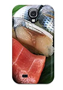 IchCvnw8354JZLFa Snap On Case Cover Skin For Galaxy S4(fish)