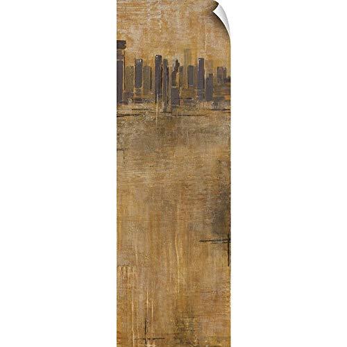 CANVAS ON DEMAND Skyline Series II Wall Peel Art Print, 20