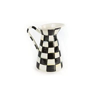MacKenzie-Childs Courtly Check Practical Pitcher - Small