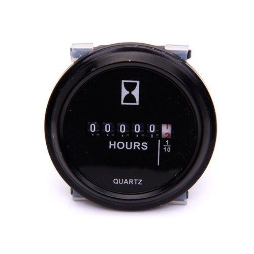 Deere Hour Meter : Galleon qiorange quot quartz round back trim ring hour