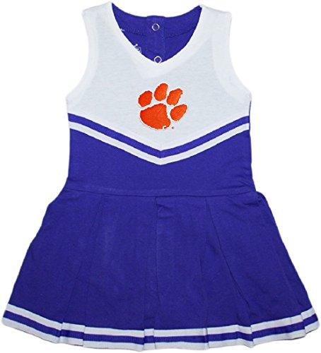 Creative Knitwear Clemson University Tigers Cheerleader Bodysuit (Cheerleader Clothes)