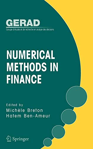 Numerical Methods in Finance (Gerad 25th Anniversary)