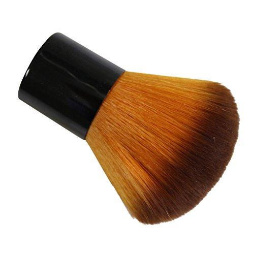 Sehr weicher und kompakter Make-up Bräuner Puder Pinsel von bester Qualität Puderpinsel Rouge Pinsel professionelles Make-up Künstler von Kurtzy TM